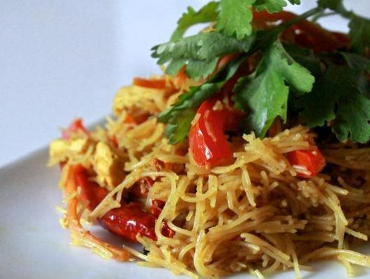Singapore Style Vermicelli Noodles