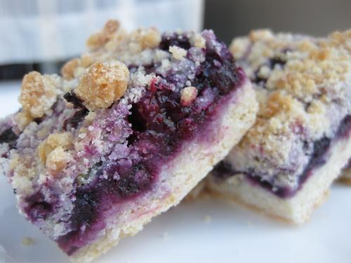 Blueberry Crumb Bars