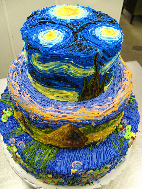 Cake Art Reddit : Foodista Starry Night Cake is a Sweet Rendition of ...