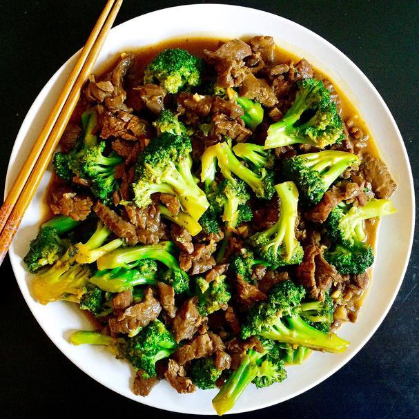 Ginger Beef Broccoli Stir Fry