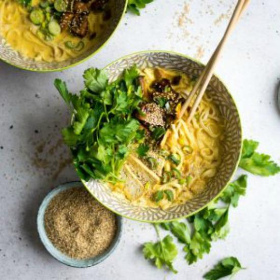 Coconut Curry Ramen Noodles