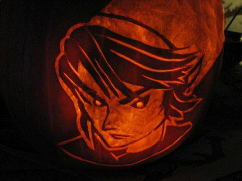 Link Legend of Zelda Pumpkin