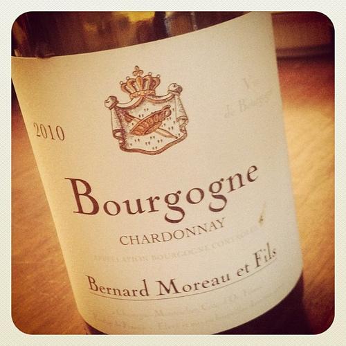 white burgundy chardonnay bernard moreau