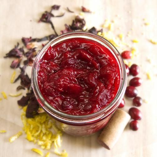 Cranberry Hibiscus Sauce