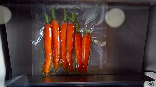 carrots sous vide