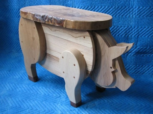 Rustic Pig Table