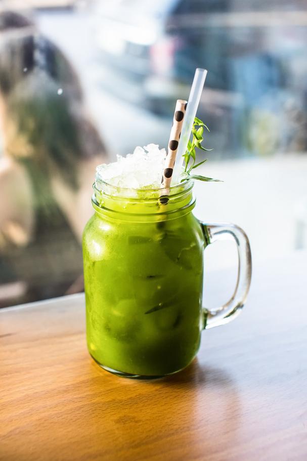 Goodnight Julep green tea cocktail