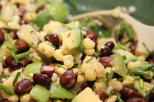 Foodista | Vegan Honey Balsamic Bean Salad