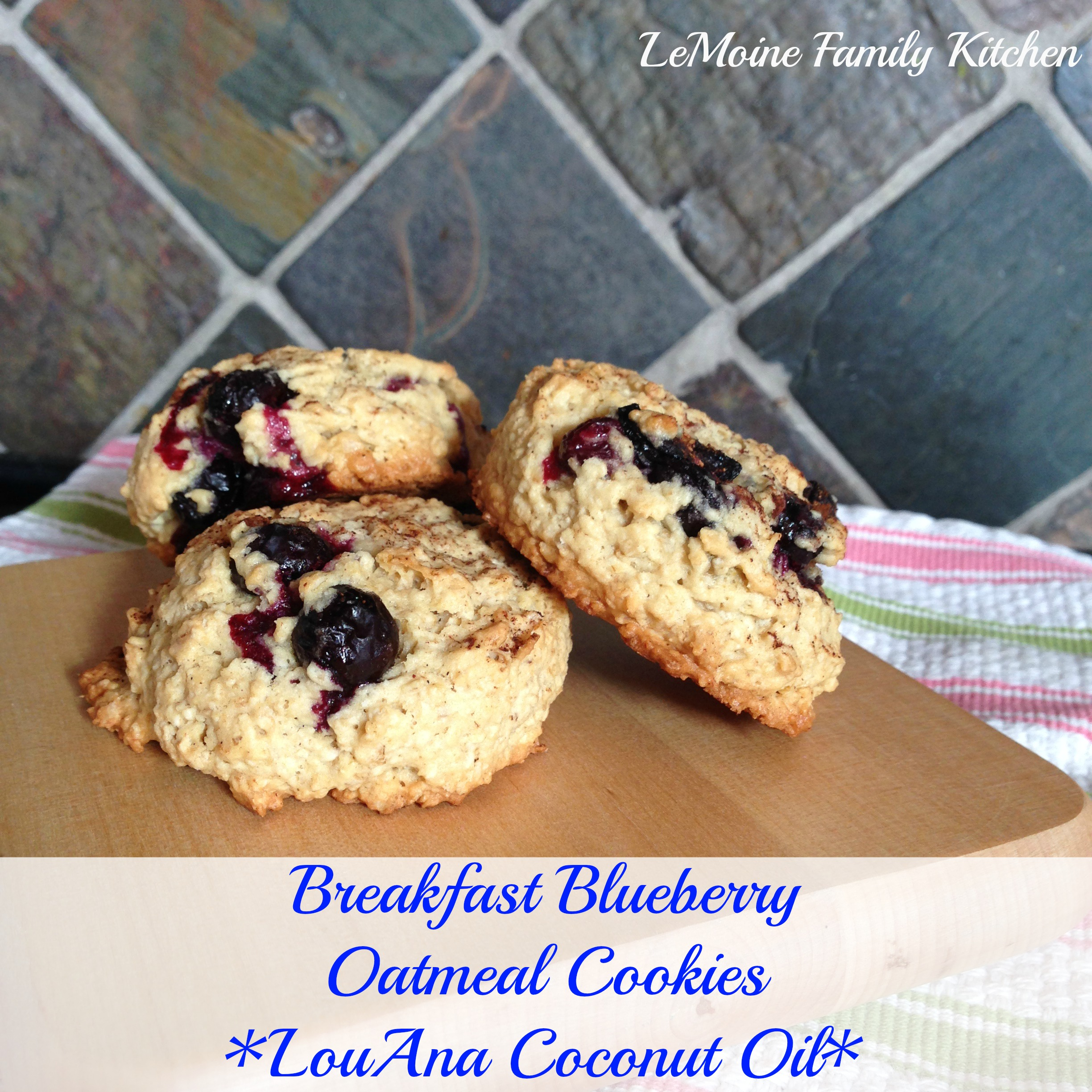 blueberry breakfast cookie