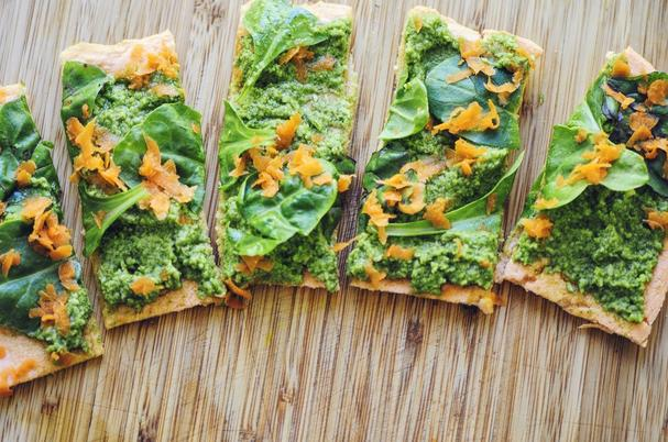 Red Lentil Flatbread