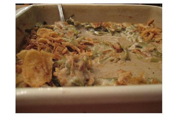 Vegetarian Green Bean Casserole