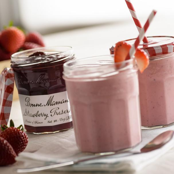 Decadent and Delicious Strawberry Smoothie