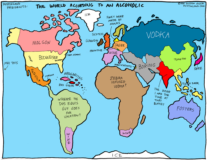 world according to an alcoholic