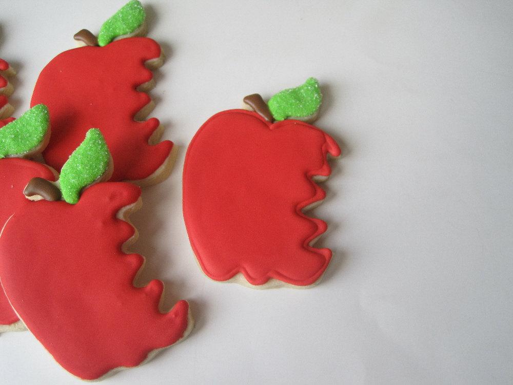 back to school cookies