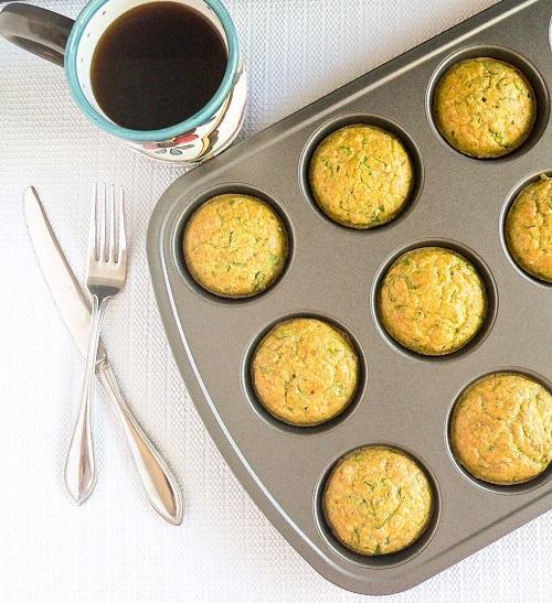 spinach almond amaranth muffins