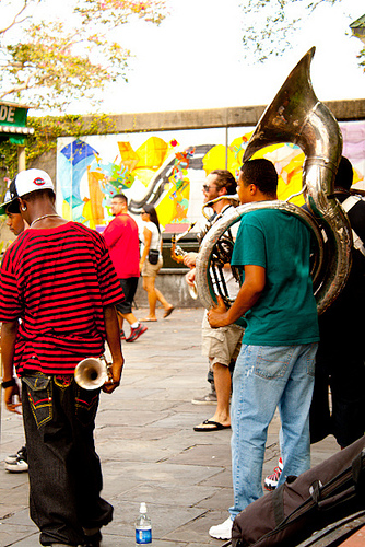 live jazz band in new orleans