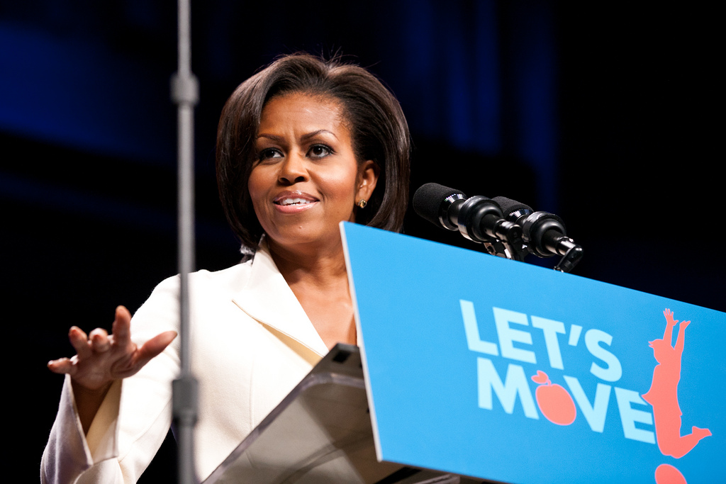 Image result for michelle obama let's move