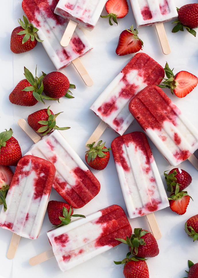 Foodista | Mint Chocolate Cheesecake Popsicles and Other Frozen Treats