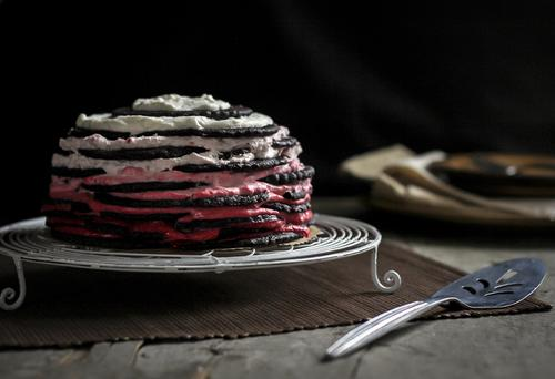 Chocolate Raspberry Icebox Cake Redbook
