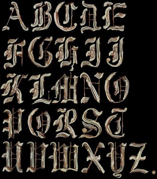 bacon font