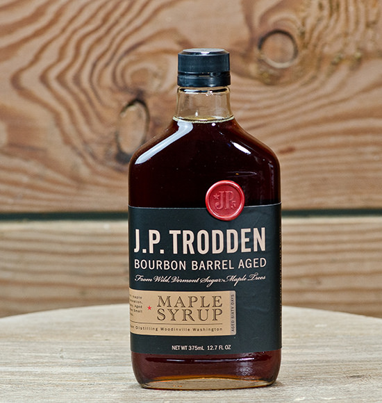 JP Trodden Bourbon Barrel Aged Maple Syrup