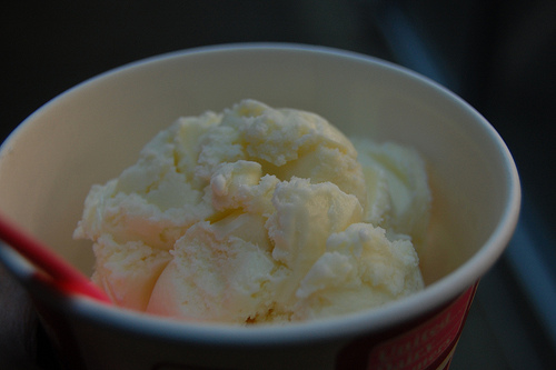 breast milk ice cream
