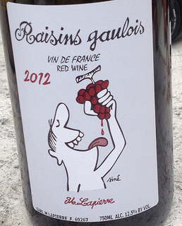 raisins gaulois lapierre morgon