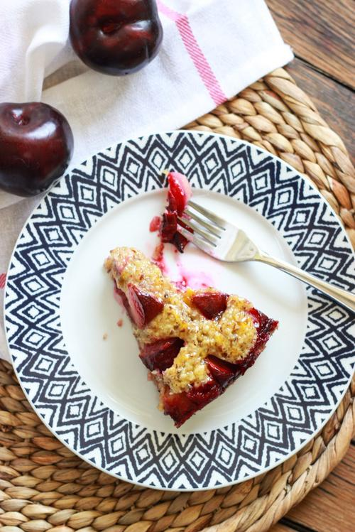Peach And Plum Almond Cake Recipe As Well As Mad About Peach And Plum ...