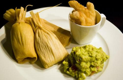 Homemade Pork Tamales