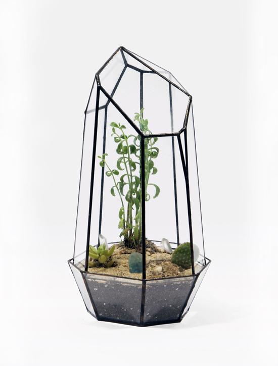 Quartz Terrarium by Score + Solder