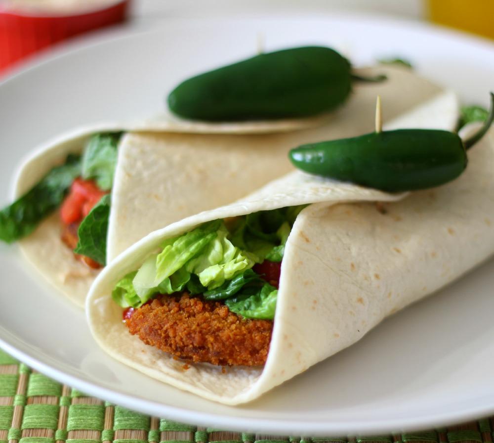 Buffalo Chicken Wrap Fast Food