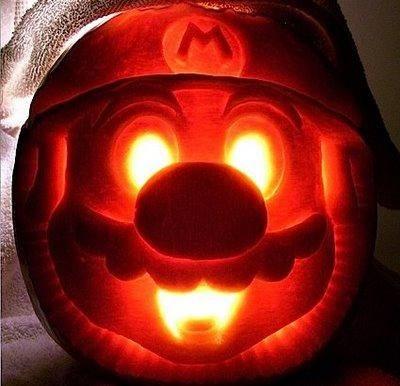Mario Pumpkin