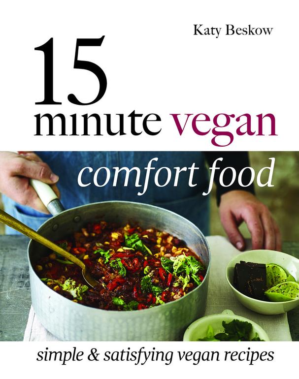 15-Minute Vegan Comfort Food cookbook