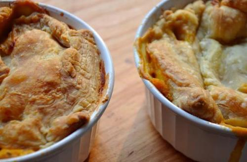 Creamy Veggie Pot Pies