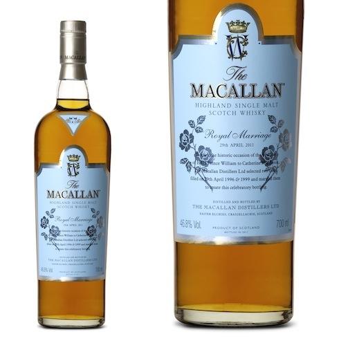 Macallan Royal Wedding Single Malt Scotch