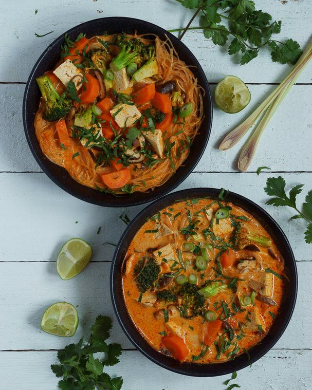 Coconut Lemongrass Curry with Tofu