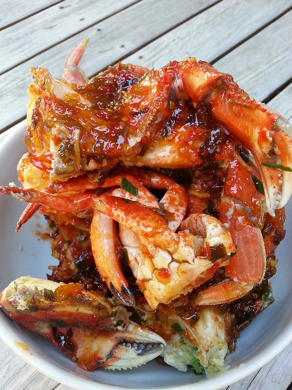 Foodista Sweet And Spicy Steamed Dungeness Crab Two Delicious Ways