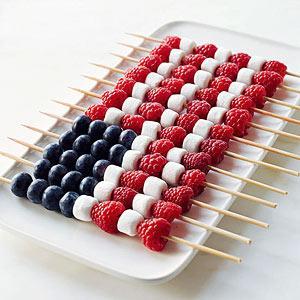 American Flag Berry Cake Recipe