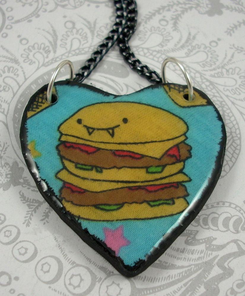 burger jewelry