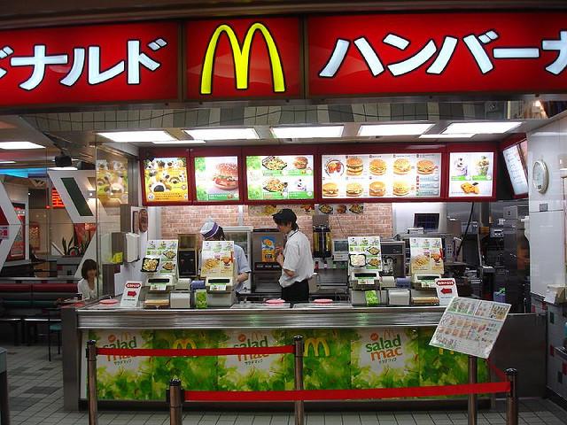 Globalization of Mcdonalds