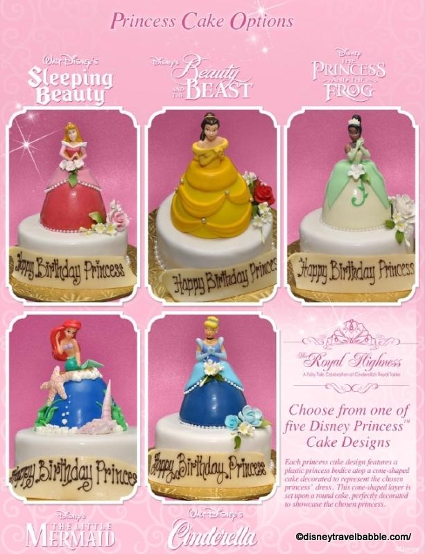 Disney Bakery Birthday Cakes