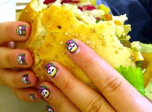 burgers and nails