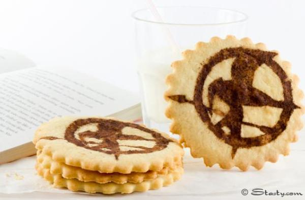 Hunger Games Shortbread Cookies