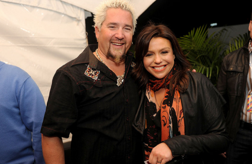 Guy Fieri and Rachael Ray