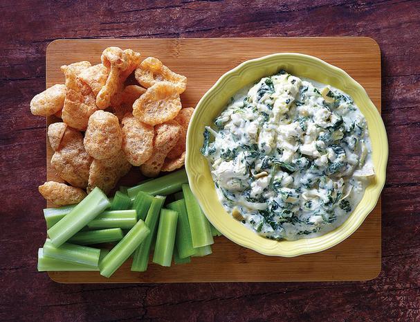 Instant Pot Keto Spinach Artichoke Dip