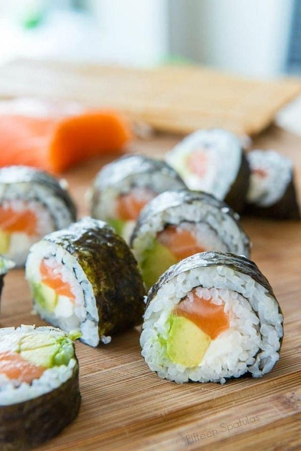 DIY Homemade Sushi recipe