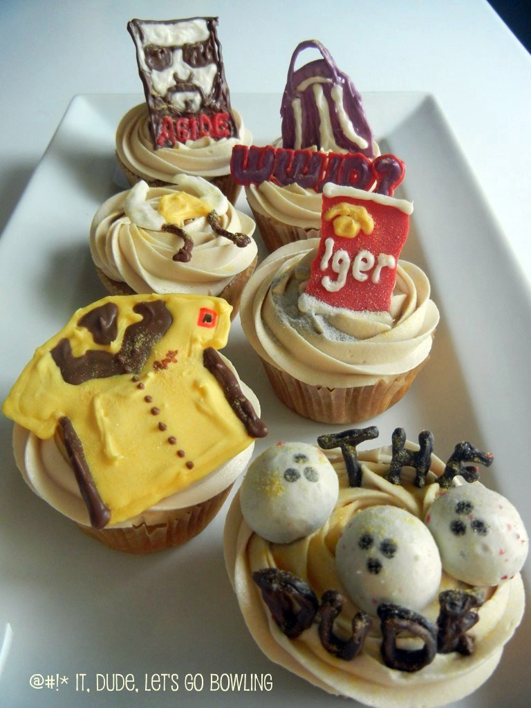 big lebowski cupcakes
