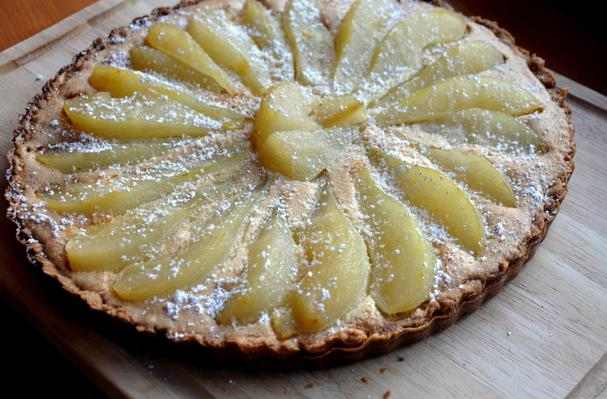 Fabulous Poached Pear and Brown Butter Tart