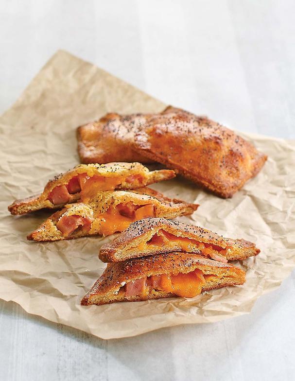30_minute Keto Ham and Cheese Pockets