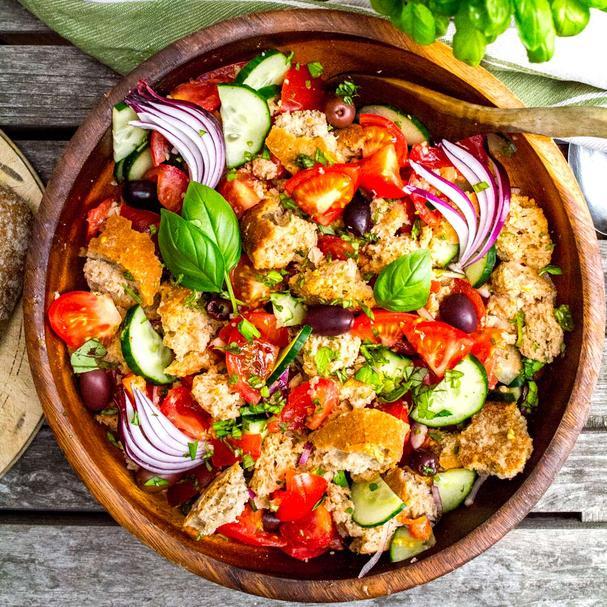 Classic Panzanella Salad recipe